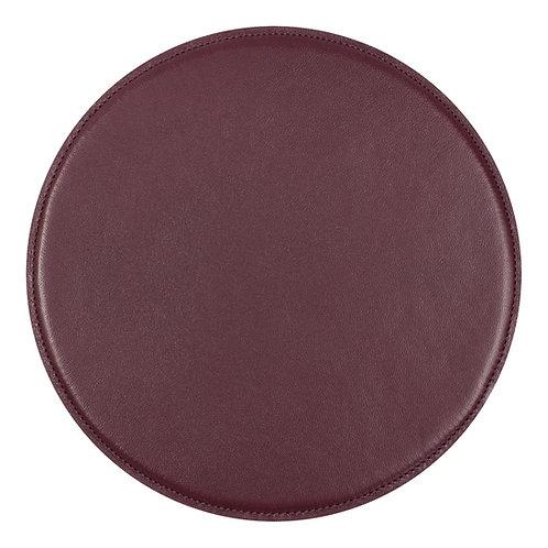 tapis de souris en cuir violet