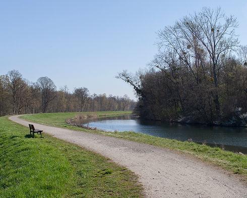 la canal du Rhône au Rhin à Erstein