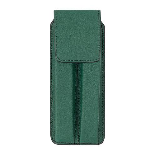 étui à stylo vert