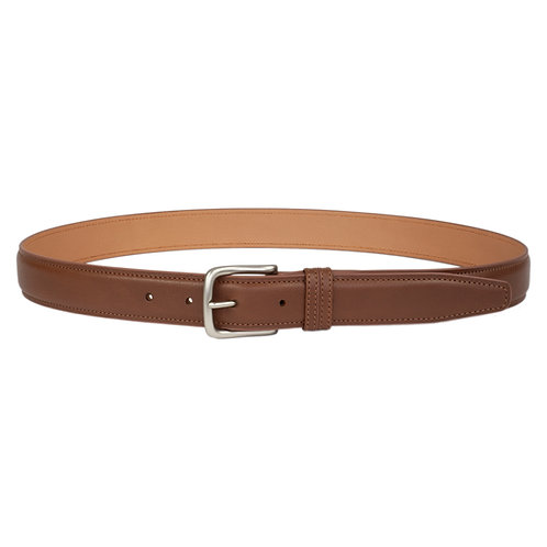 ceinture en cuir brun marron made in france