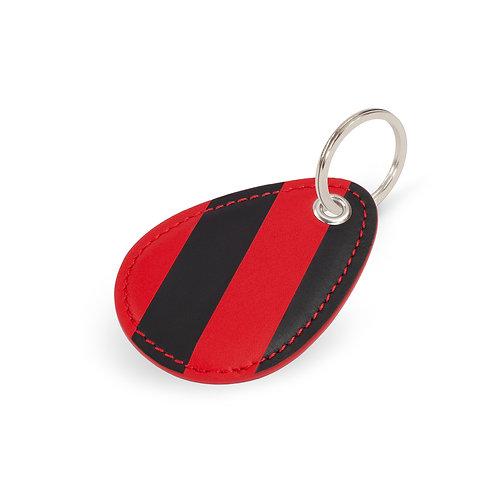 porte-clés blason en cuir