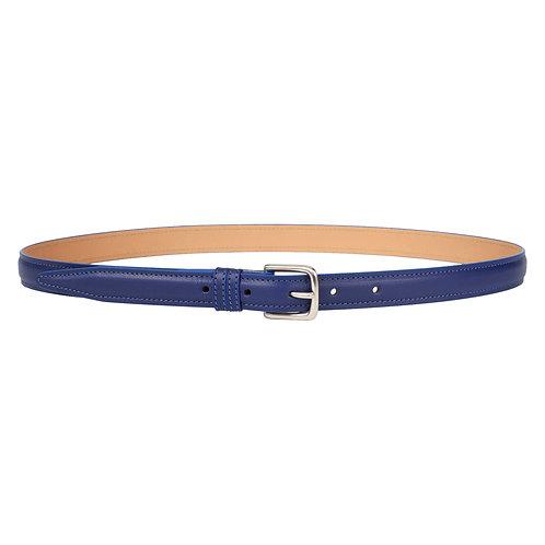 ceinture en cuir bleu