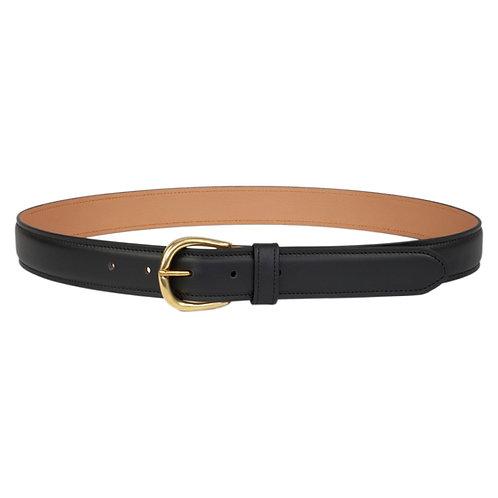 ceinture en cuir noir made in france