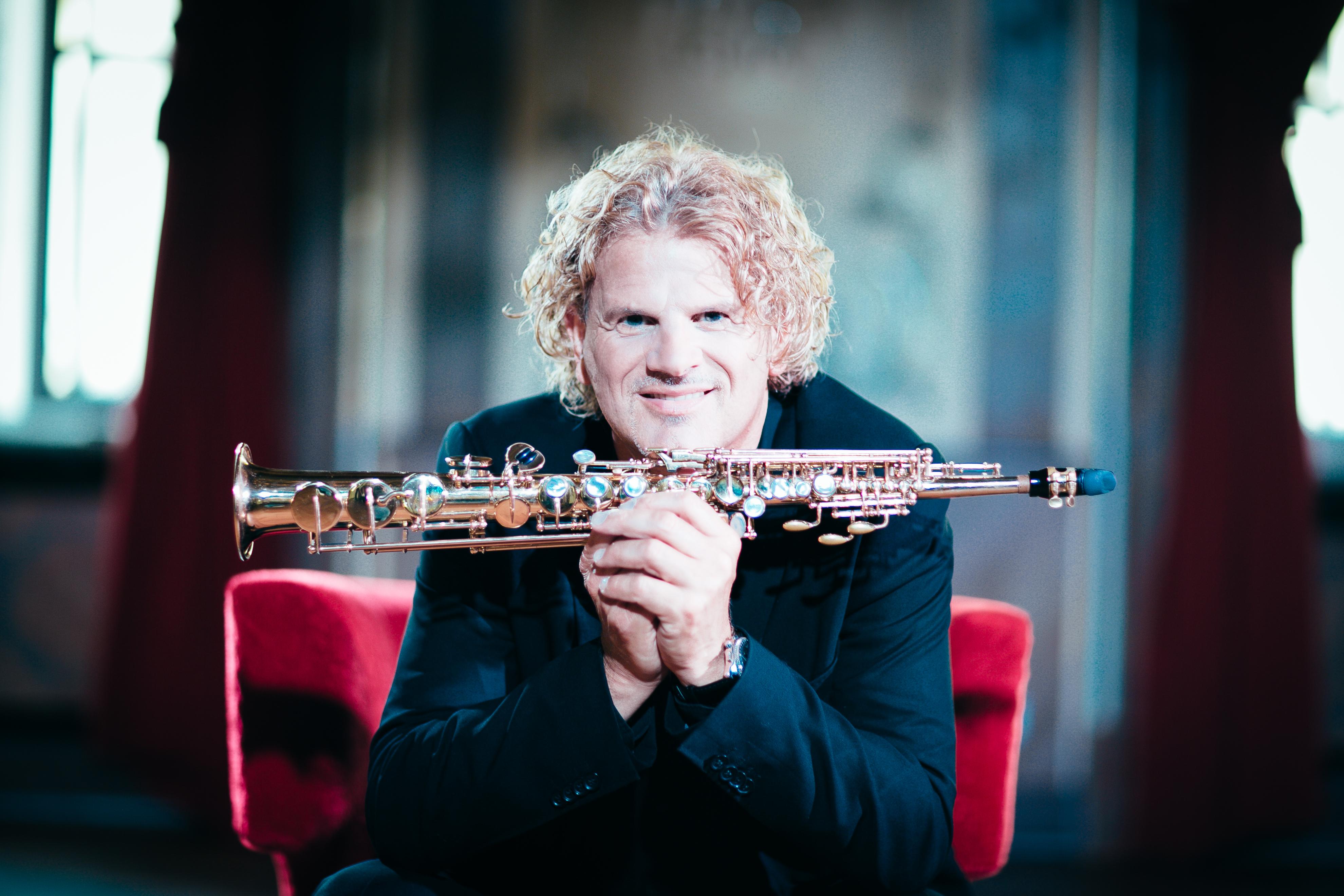 Saxophonist Chris Haller