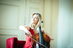 Cellistin Monika Fuhs