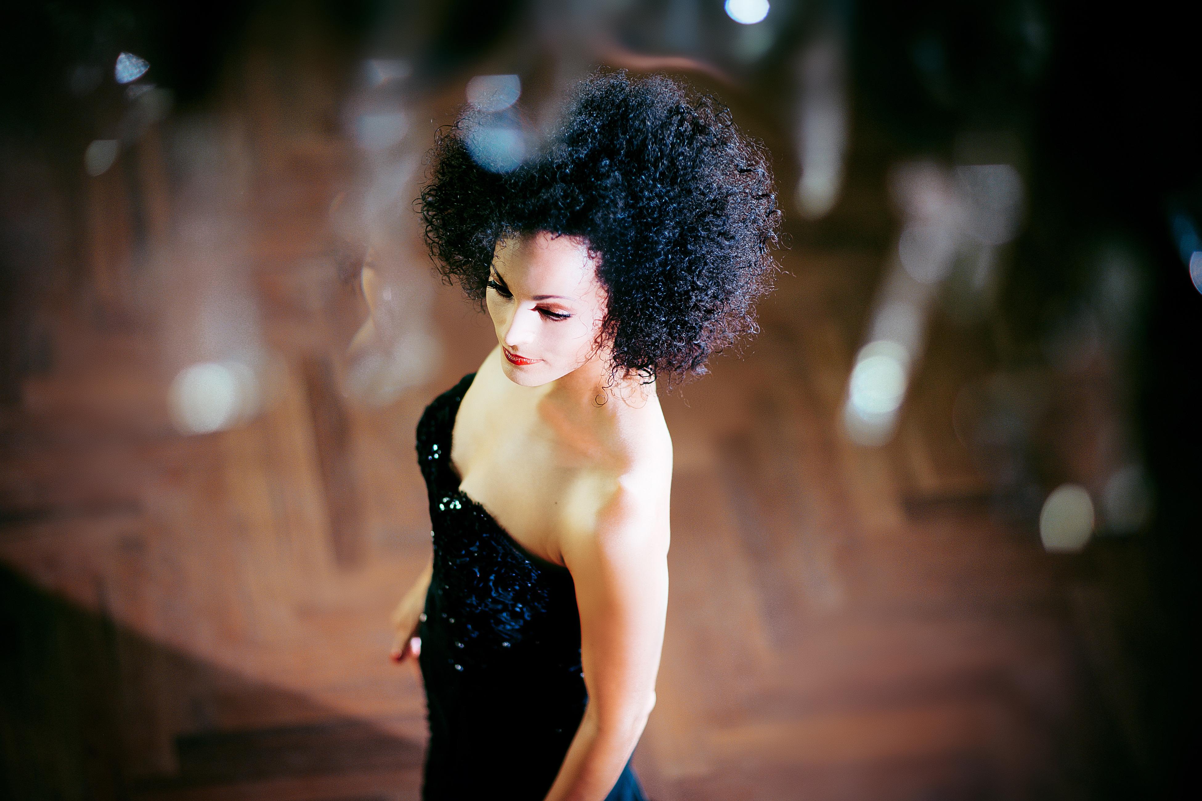 Die Sängerin AZA aka Ariane Roth