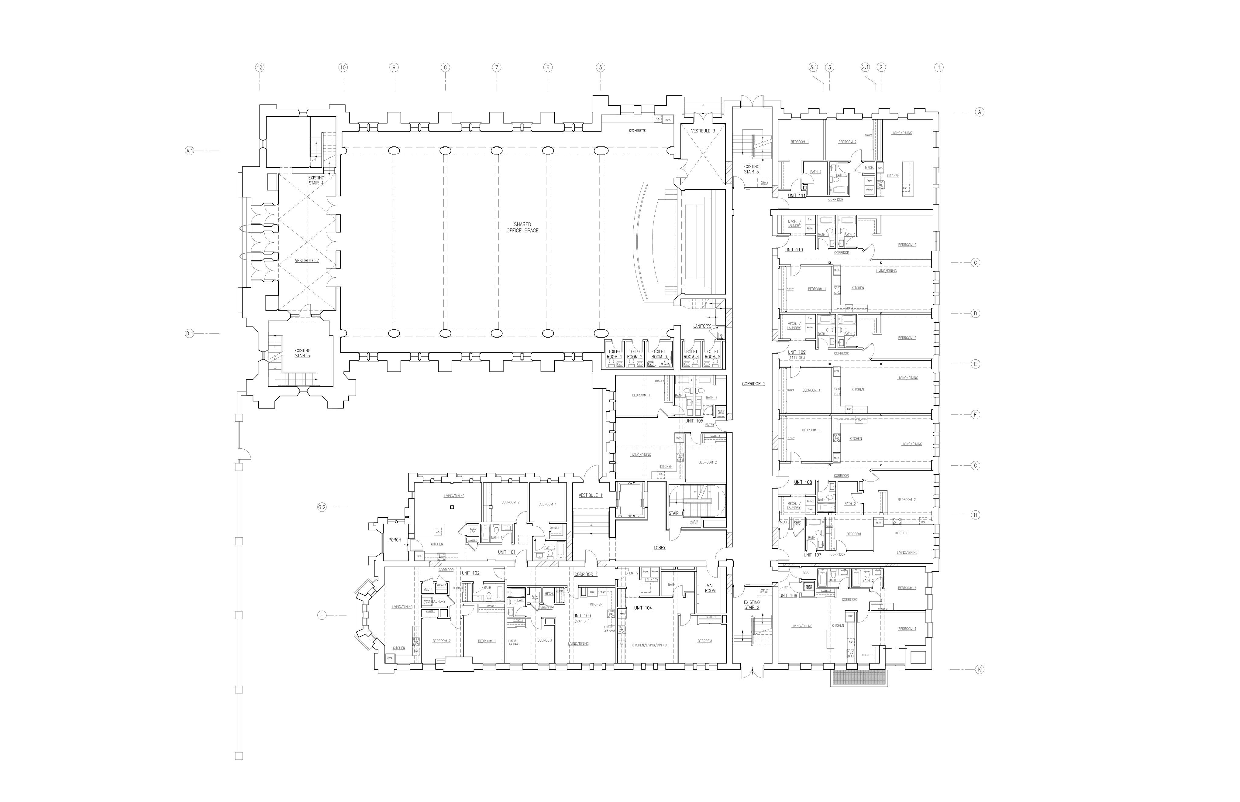 ellis first floor