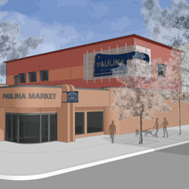 Paulina Meat Market Conceptual Two Story Expansion
