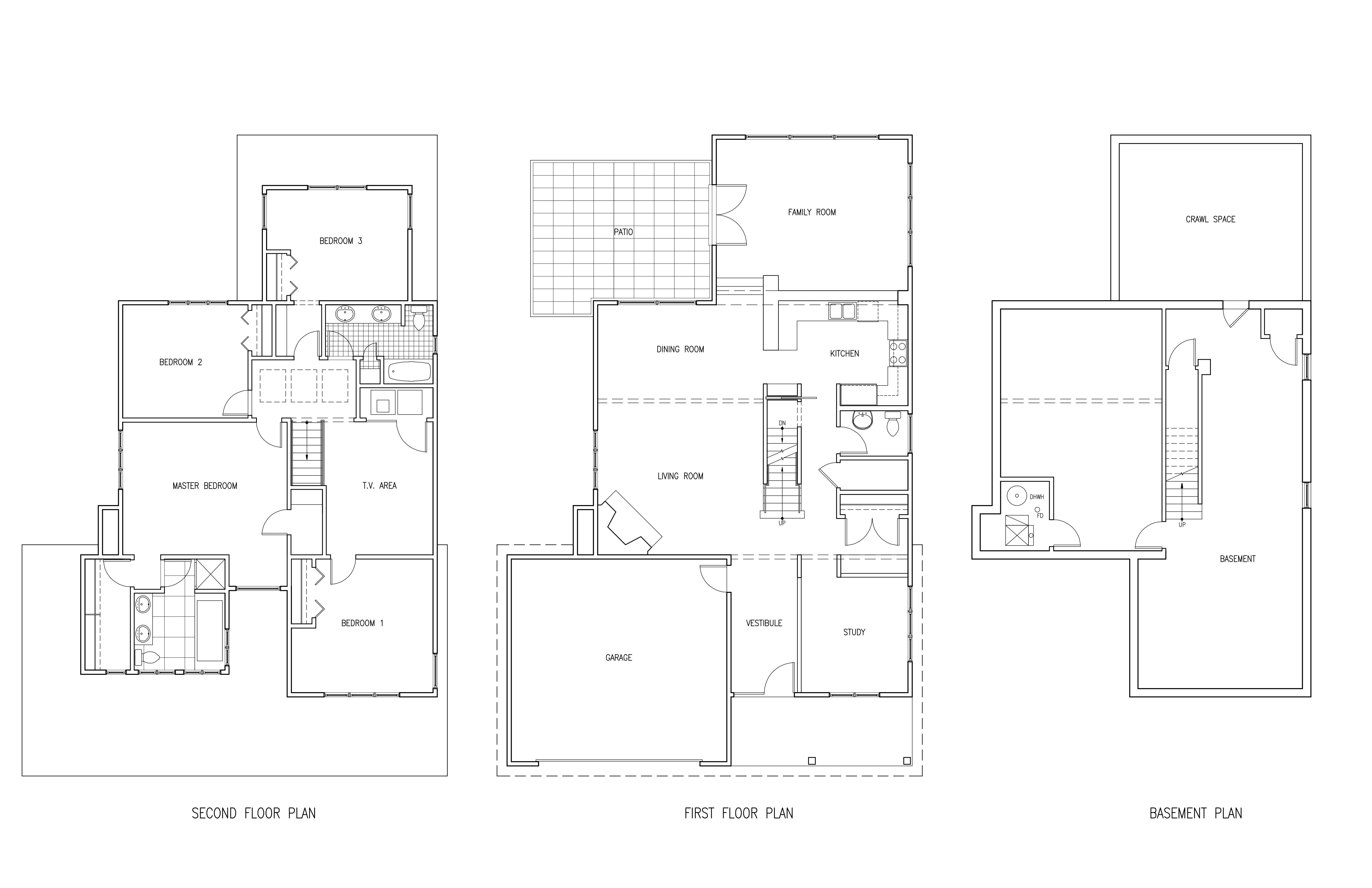 Highland Floor Plans