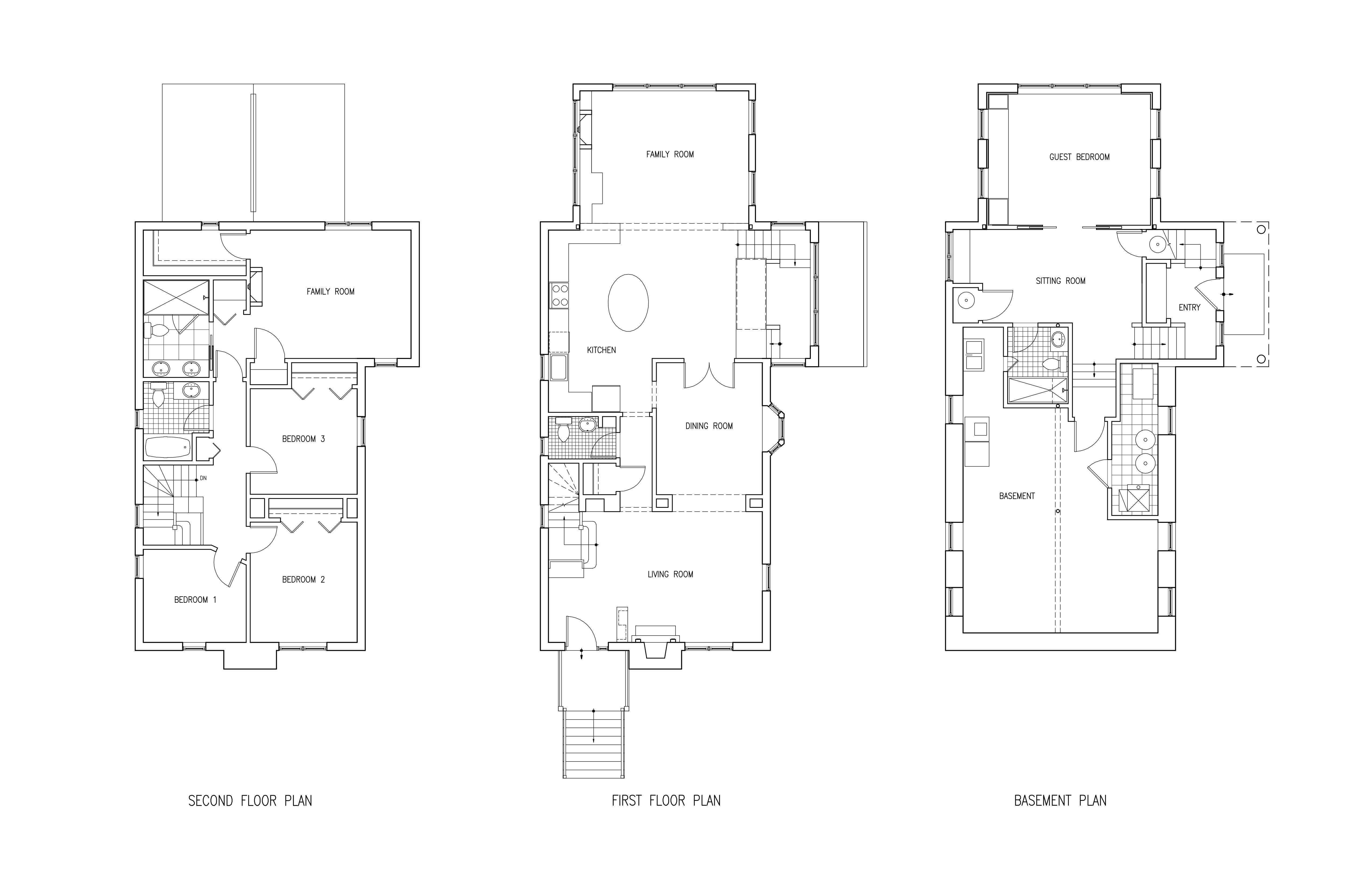 Pensacola Floor Plans