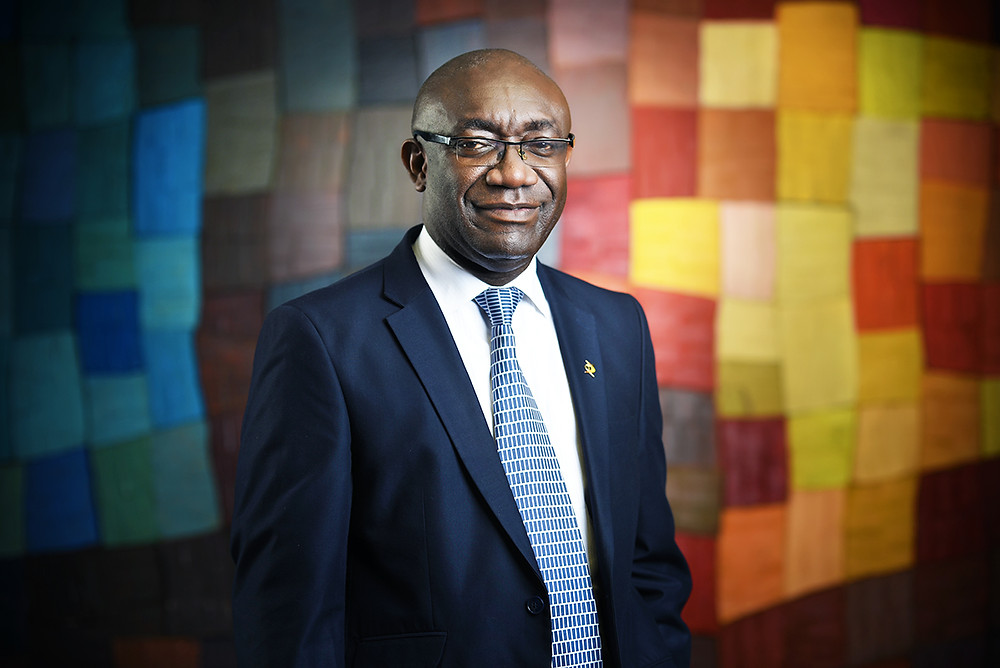 Portrait corporate AMONKOU Eugene Directeur Diamond bank S.A