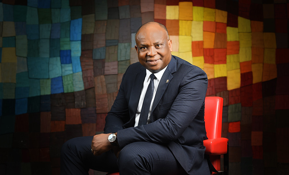 portrait corporate DG diamond bank benin OROALESI benson