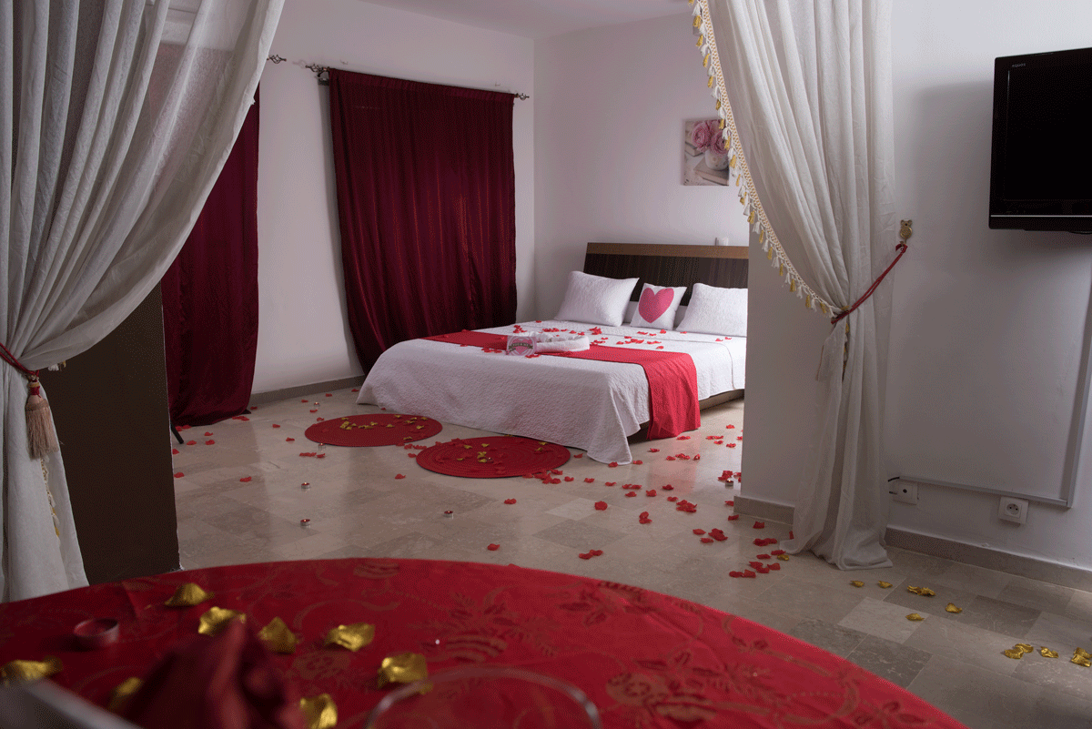 Chambre residence Emlys Abidjan