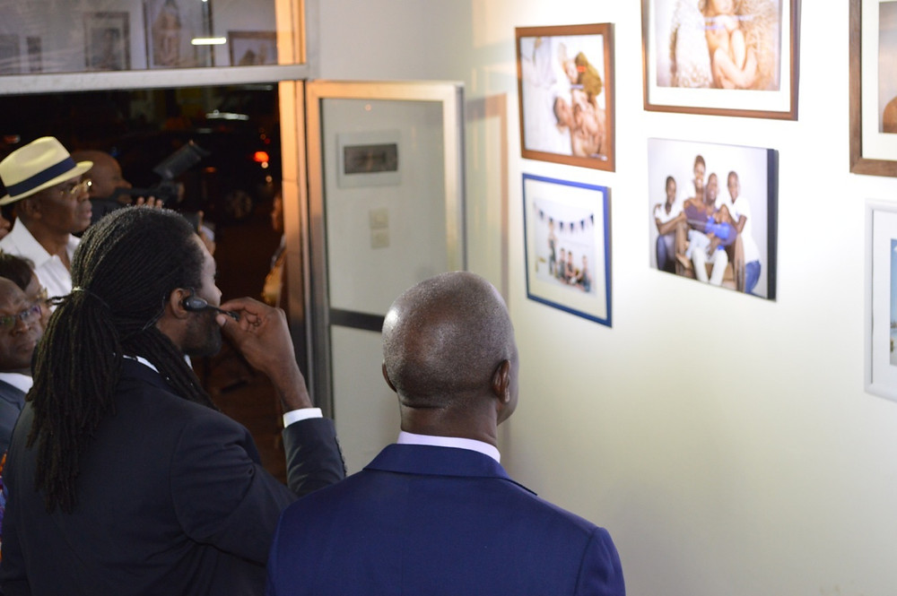 Cérémonie d'inauguration du studio photo Connexion Photography Abidjan