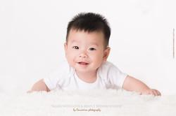 Mignon petit enfant chinois