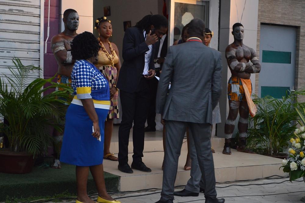 Cérémonie d'inauguration Connexion Photography Abidjan