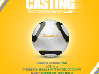 Vancouver Children Photography Casting - Soccer World Cup Photoshoot