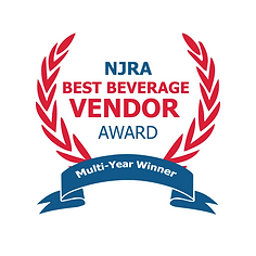 Seabreeze syrups Best NJRA, berverage vendor award, winner
