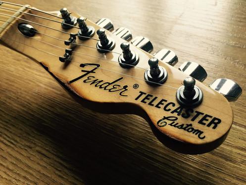 Fender 1972 Reissue Telecaster Custom Piano Black MIJ 2012