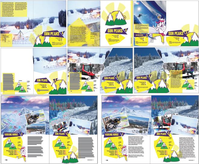 Process of Sun Peaks page