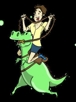 Riding The Dinosaur