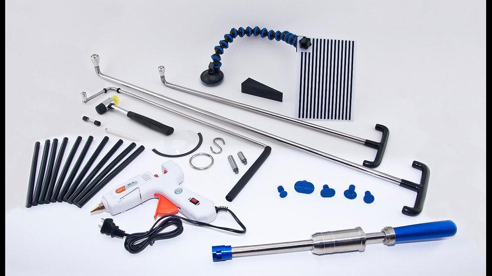 Kit combinado de punta de rodillo magnético