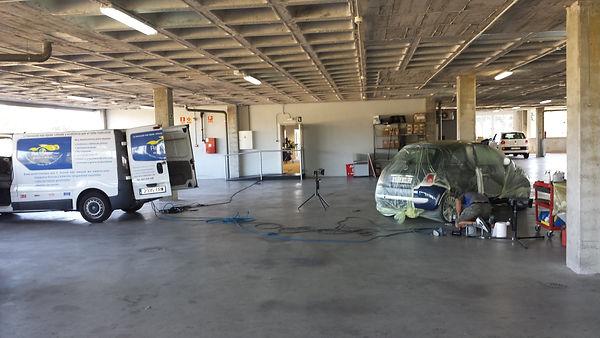SMRT repair en instalaciones del cliente