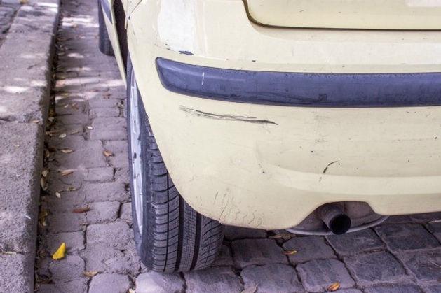 Manchas en pintura de coche