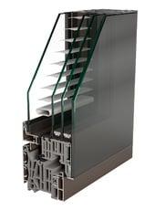 Alumínio - Sistema Fin Project CRISTAL