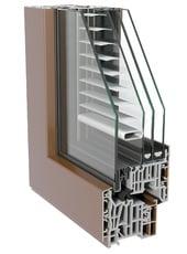 Alumínio - Sistema Fin Project twin line Nova