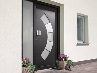 PVC/Aluminio - Portas de Entrada