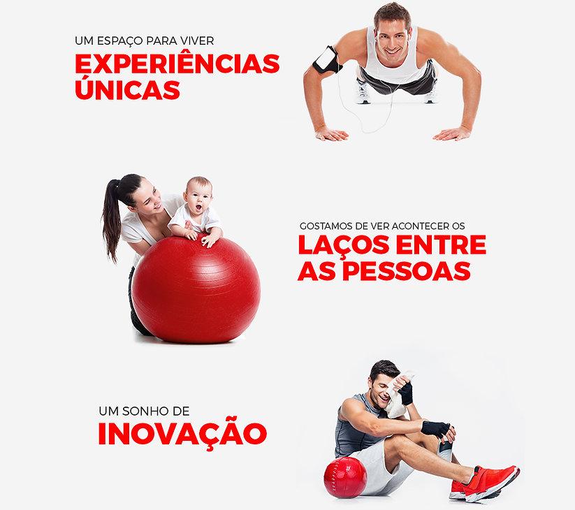 Kalorias Ginásio Clube de Saúde Espaço Experiência Única Pessoas Inovação Excelência Motivação Sonho Saúde Bem Estar Vida