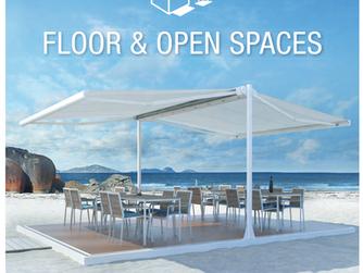 Protecção em chão e espaços abertos