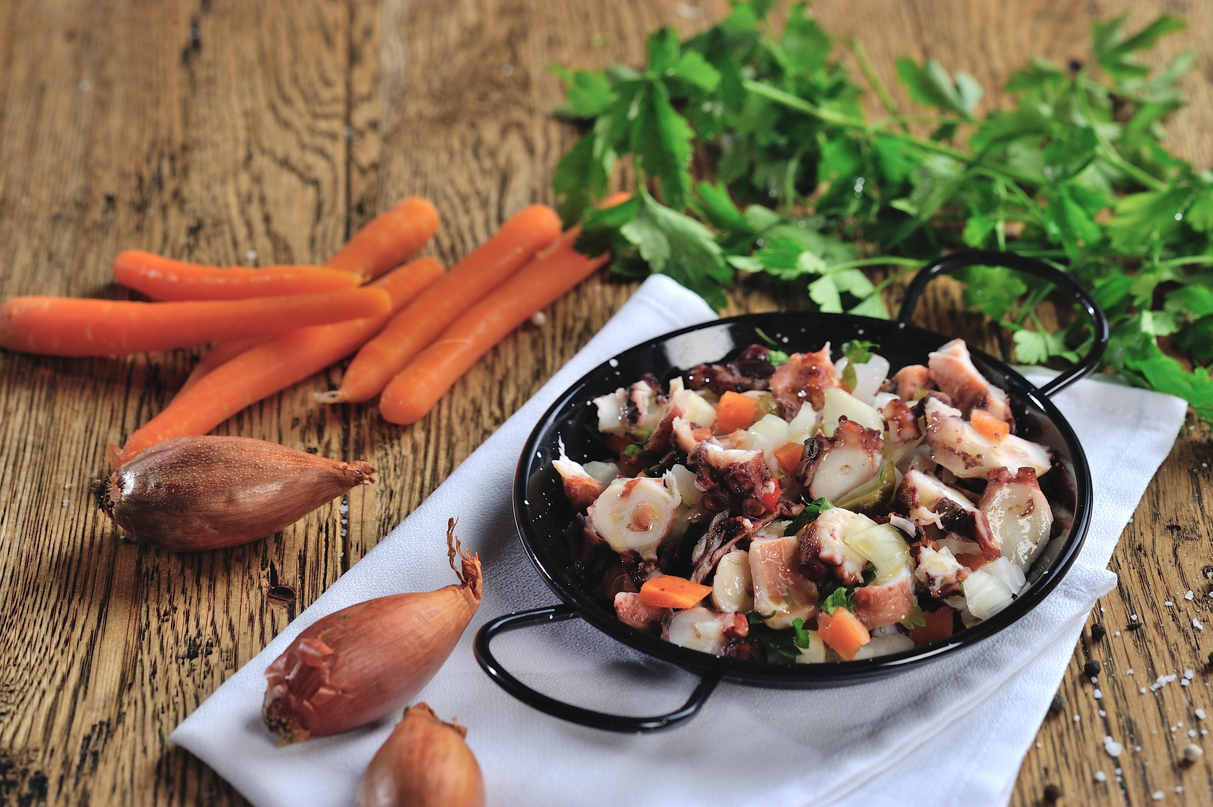 3. Salada de Polvo