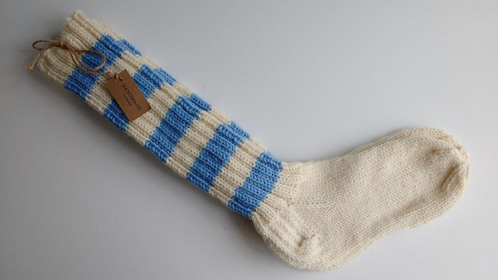 Socks -Blue-Birch (Size:  Large Only)