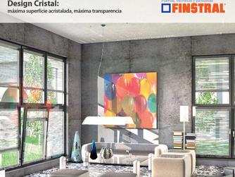 Design Cristal: Máxima superfície acristalada, máxima transparência