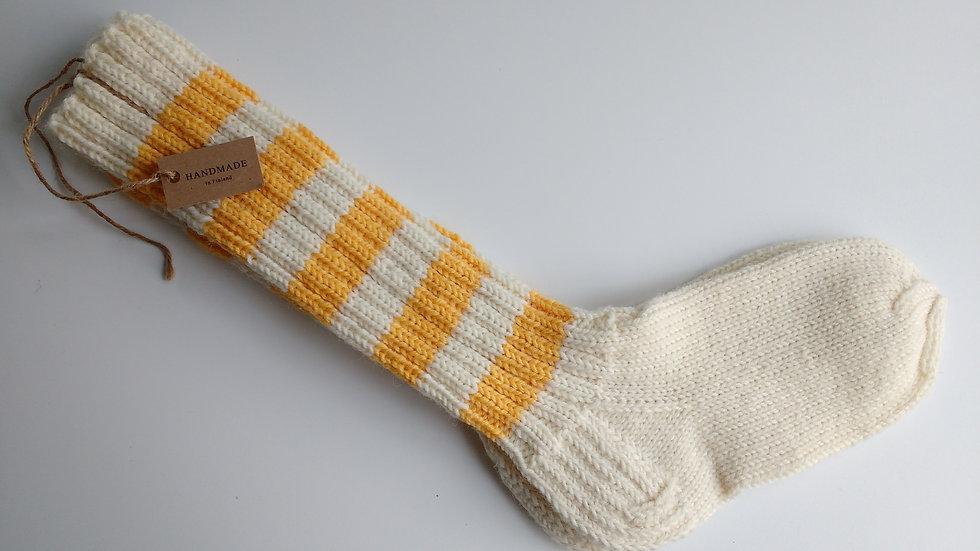 Socks -Yellow-Birch (Size: XL Only)
