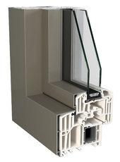 PVC/Alumínio - Sistema TOP 90KAB e TOP 72KAB