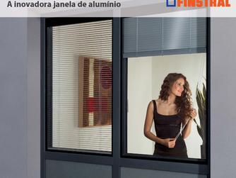 A inovadora janela de aluminio