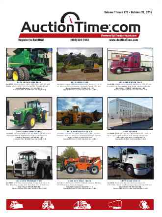 Auction time magazine