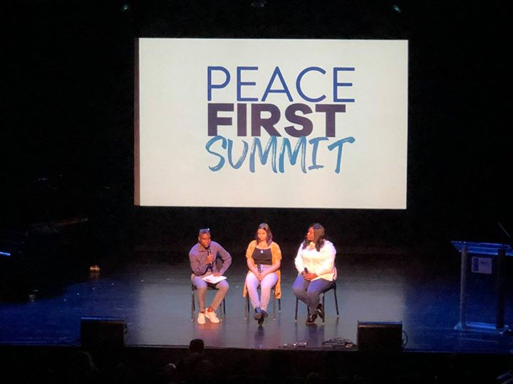 Had a great time speaking at the Peace F