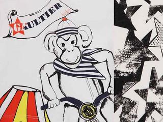 CIRCUS - mini fashion tales - liberamente ispirato alla collezione bambino di J.P.Gaultier  a-i 2014