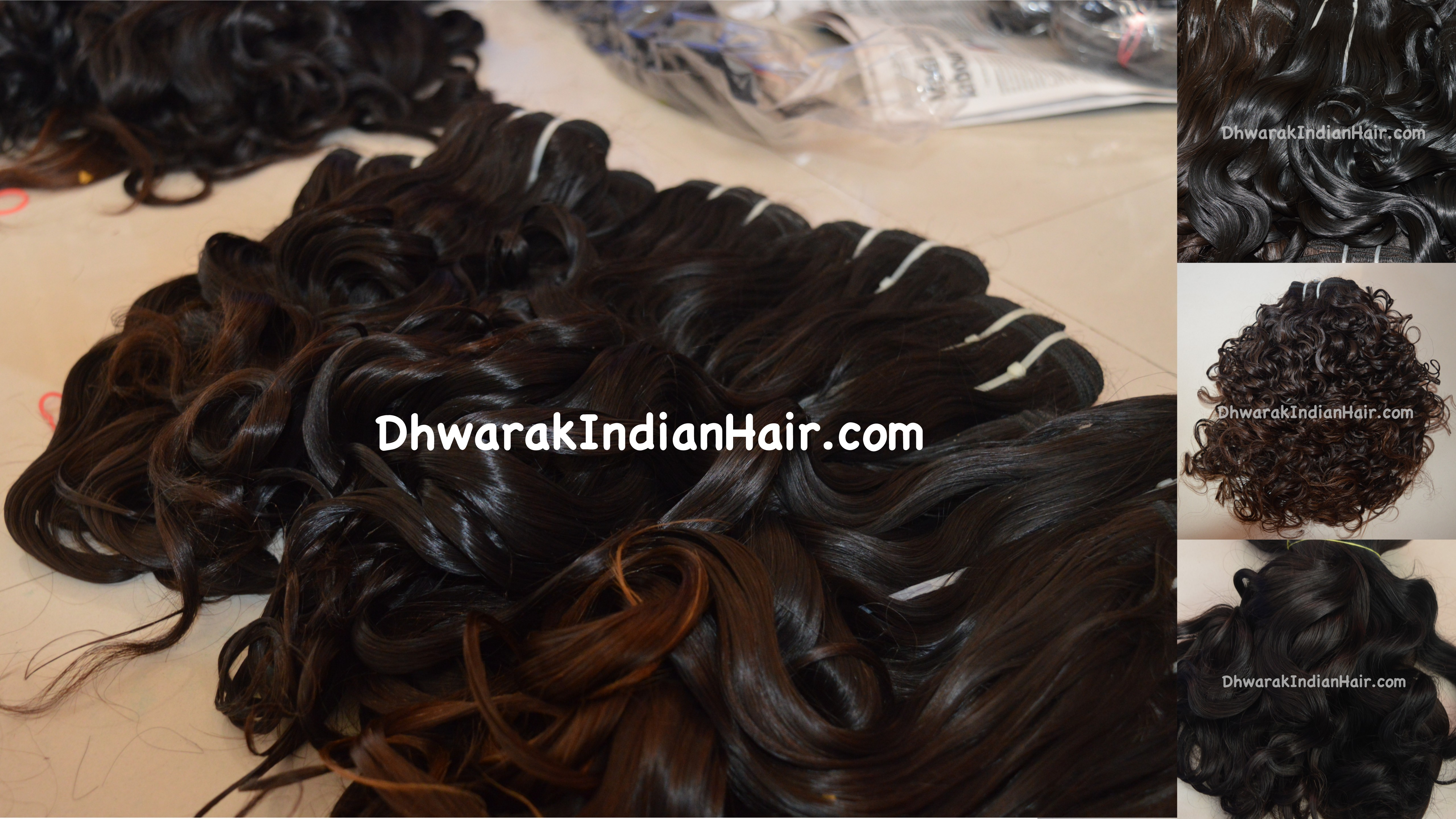 Human Hair Extensions Factory India Raw Human Hair