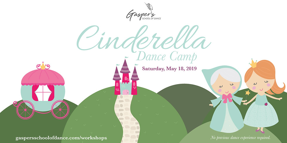 Cinderella Dance Camp (Ages 5 - 8)
