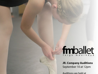 Auditions: Junior Company
