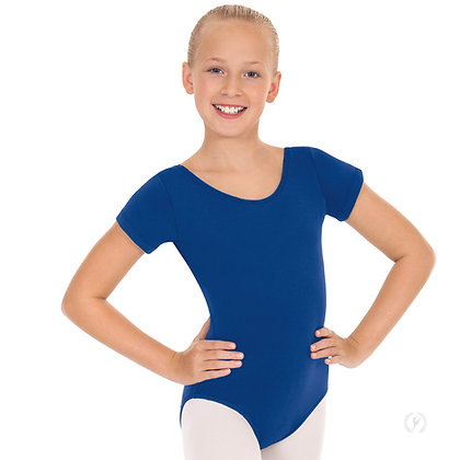 Ballet 4 -- Short Sleeve Leotard