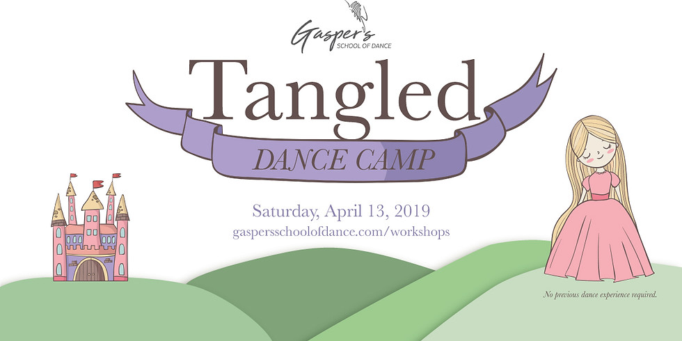 Tangled Dance Camp (Ages 5-8)