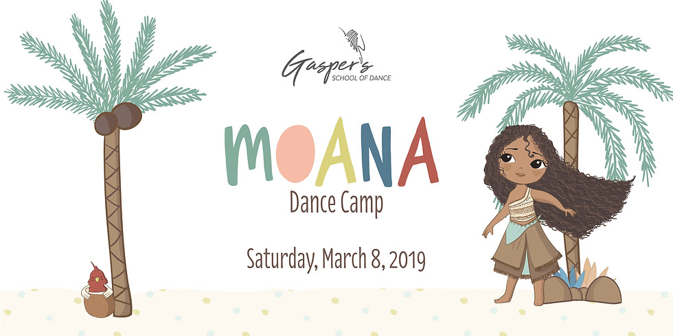 Moana Dance Camp (Ages 3-5) - SOLD OUT -
