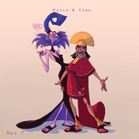 FebFav - Kuzco x Yzma