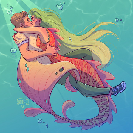 MerMay 2019 - Kissing